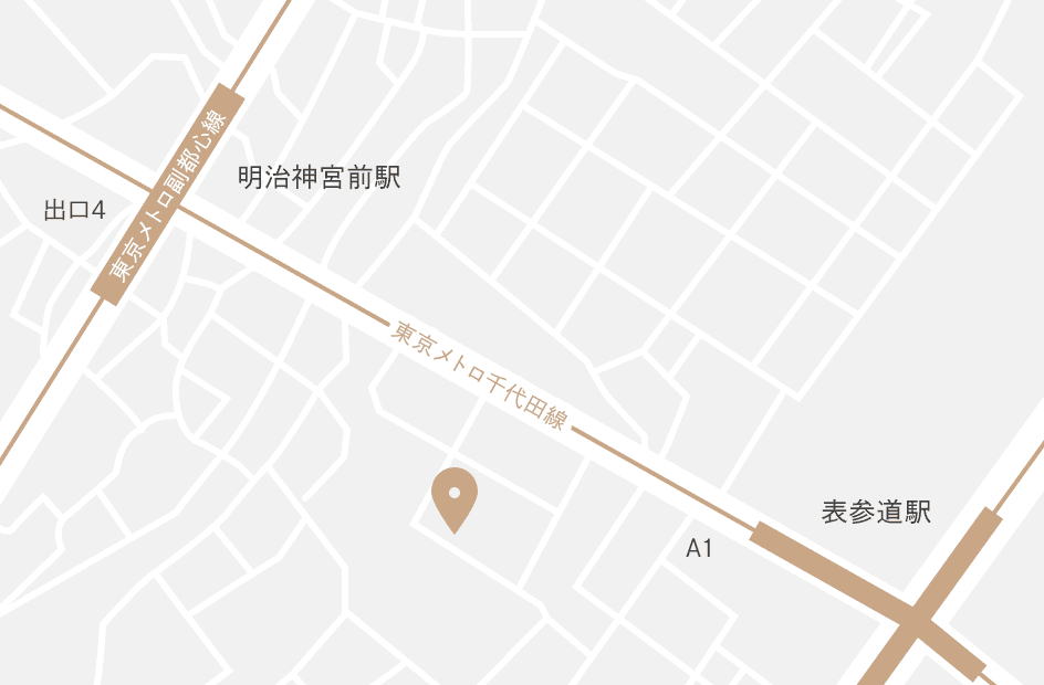 IWAI OMOTESANDO 地図